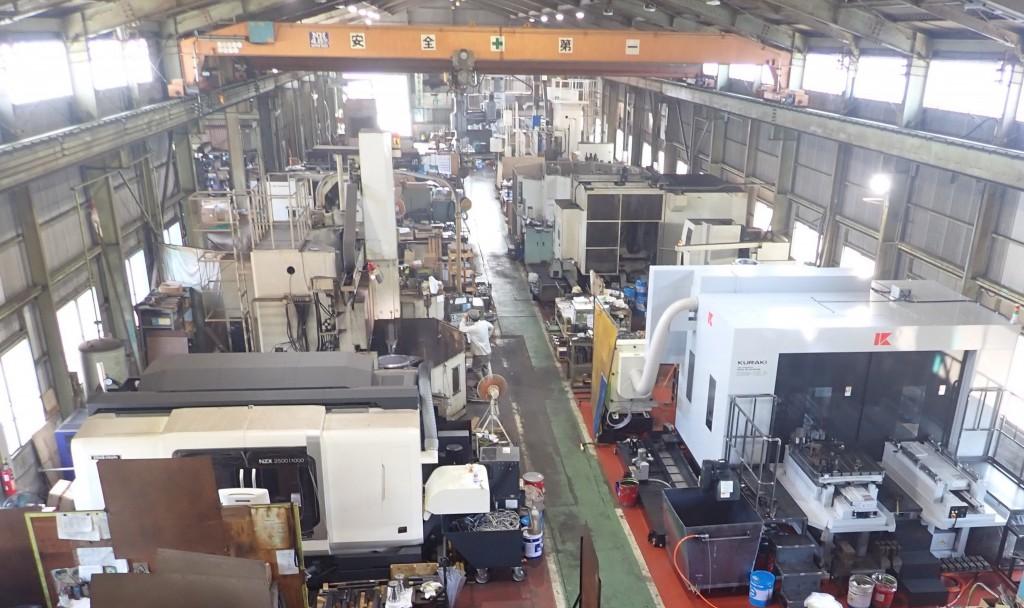 機械場工場