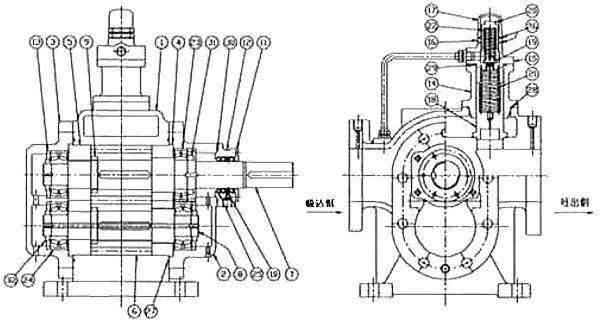 日本musashino武藏野齿轮泵液压泵gr-ch502上海总经销图片